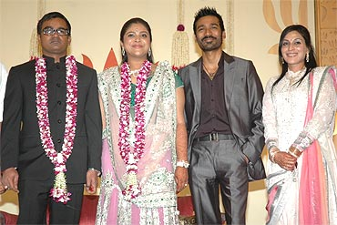 Selvaraghavan, Geetanjali, Dhanush and  Aishwarya