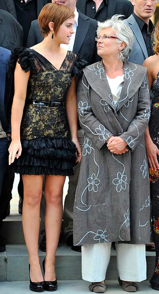 Emma Watson and Julie Walters