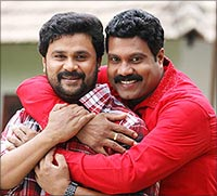 Dileep and Kalabhavan Mani