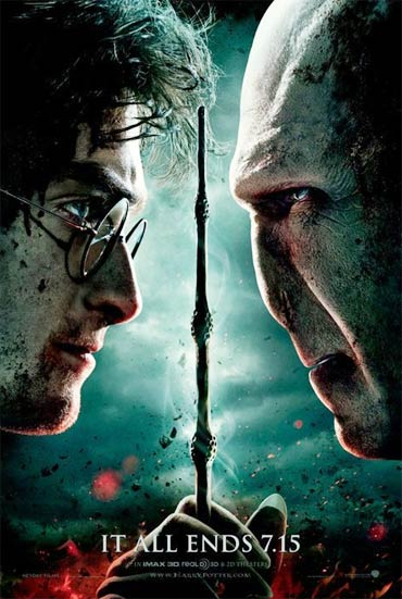 Movie poster of Harry Potter and The Deathly Hallows Part 2