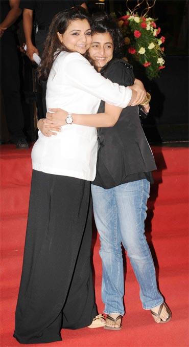 What Bollywood was up to last weekend - Rediff.com Movies Vaibhavi Merchant S Sibling Shruti Merchant