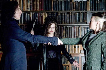 Snape and Narcissa perform the Unbreakable Vow