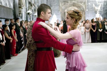 Viktor and Hermione at the Yule Ball