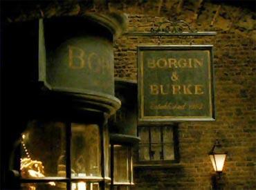 The Borgin and Burkes shop