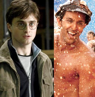 Daniel Radcliffe's Harry Potter and Hrithik Roshan