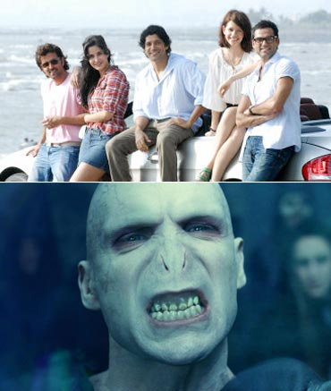 The ZNMD team and Lord Voldemort