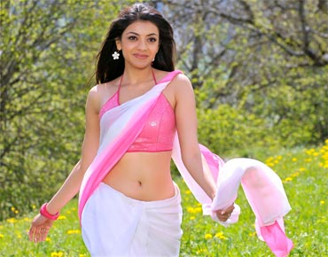 Kajal Agarwal in in her film Veera