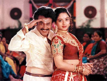 A still from Padayappa