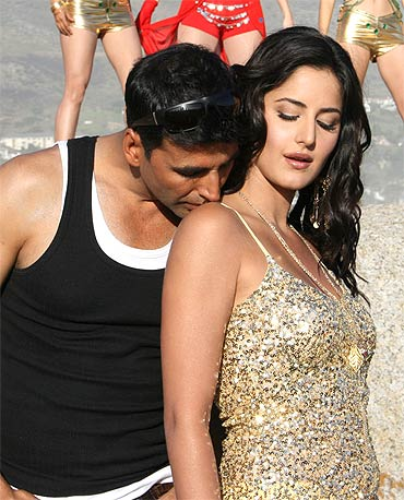 Akshay Kumar and Katrina Kaif in Welcome