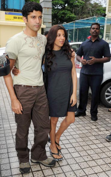 Farhan Akhtar and Zoya Akhtar