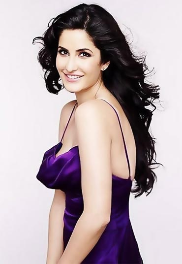 Katrina Kaif in the Lux ad