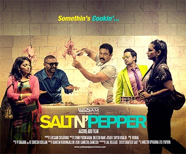 Movie poster of Salt N' Pepper