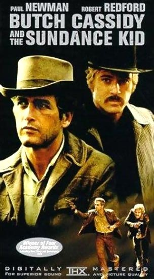 A movie poster of Butch Cassidy and The Sundance Kid