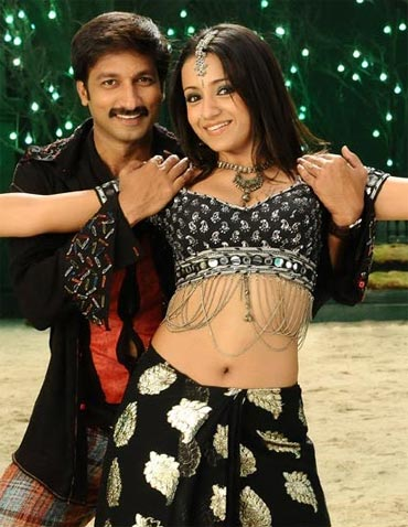 Trisha in a scene from Sankham