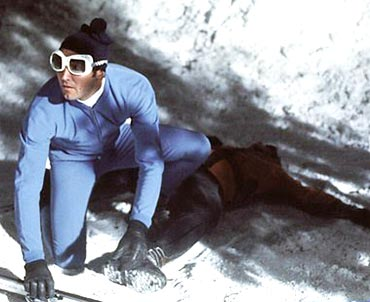 A still from On Your Majesty's Secret Service