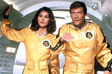 A still from Moonraker