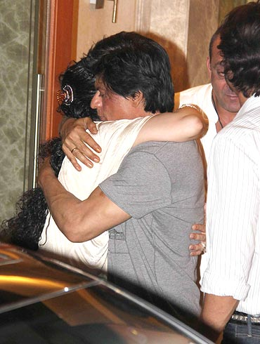 Manyata Dutt and Shah Rukh Khan