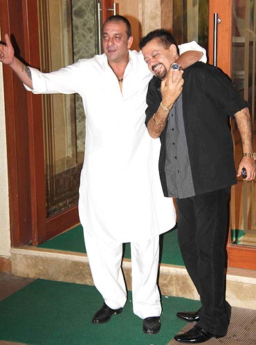 Sanjay Dutt and Dharam Oberoi