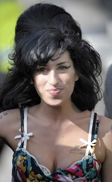 Amy Winehouse in a 2009 picture