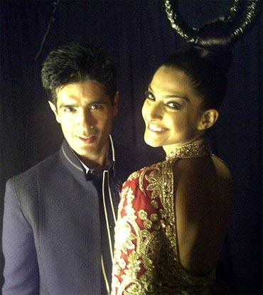Manish Malhotra and Sonam Kapoor