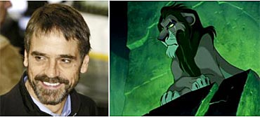 Jermy Irons as Scar