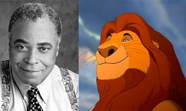 James Earl Jones and musafa