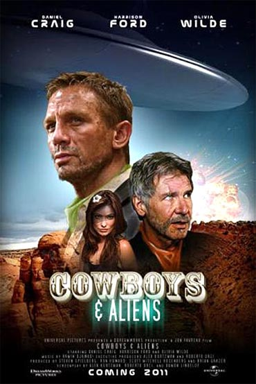 Movie Poster of Cowboys And Aliens