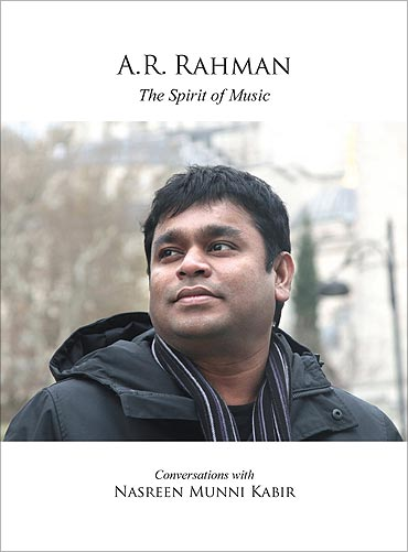 Book Cover on A R Rahman The Spirit of Music