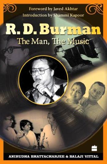 Book cover of R.D. Burman - The Man, The Music
