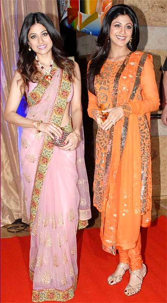 Something is. Shilpa shetty wedding suits good, agree
