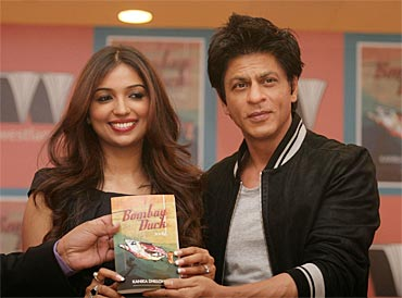 Kanika Dhillon and Shah Rukh Khan