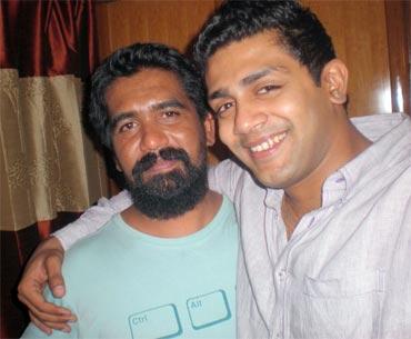 Jacob with Raghu Mukherjee