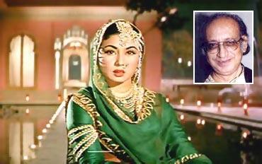 Meena Kumari and Kamal Amrohi (inset)