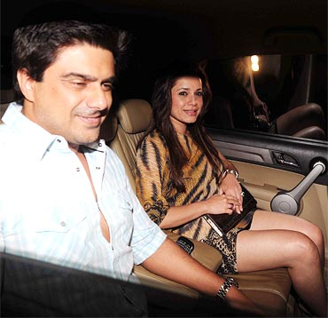 Sameer Soni and Neelam Kothari