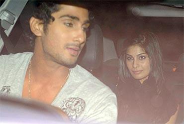Prateik Babar and Pooja Gupta