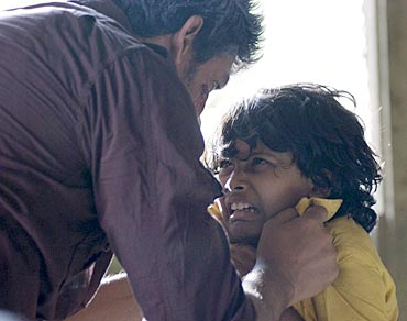 A still from Aaranya Kaandam