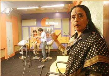 Ila Arun was a part of reality singing show Fame Gurukul