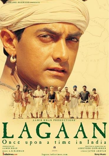 Movie poster of Lagaan
