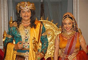 Avinash Wadhavan and Roma Bali