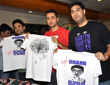 Vir Das, Imran Khan and Kunal Roy Kapoor