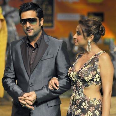 Fardeen Khan and Natasha