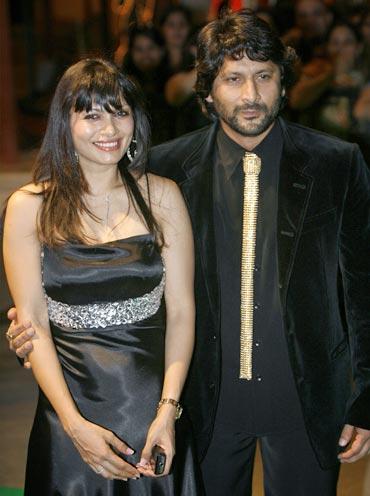 Maria Goretti and Arshad Warsi