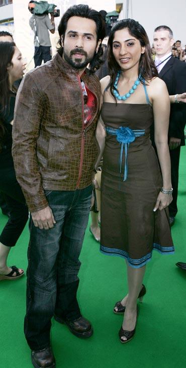 Emraan Hashmi and Parveen