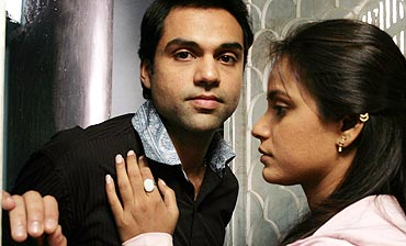 Abhay Deol and Neetu Chandra in Oye Lucky! Lucky Oye!