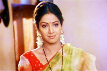 Sridevi in Judaai