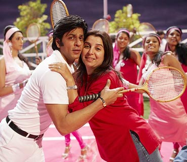 Farah Khan during Om Shanti Om