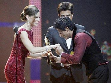 Shah Rukh Khan, Hilary Swank and Anil Kapoor