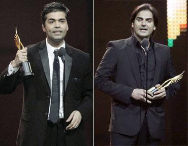 Karan Johar and Arbaaz Khan