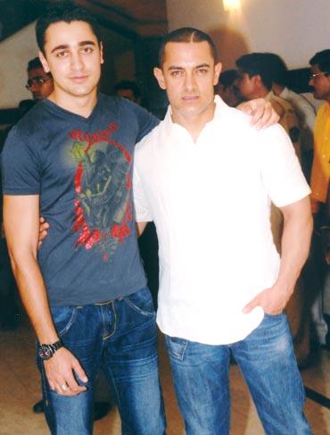 Imran with Aamir Khan