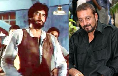 Sanjay Dutt and Amitabh Bachchan